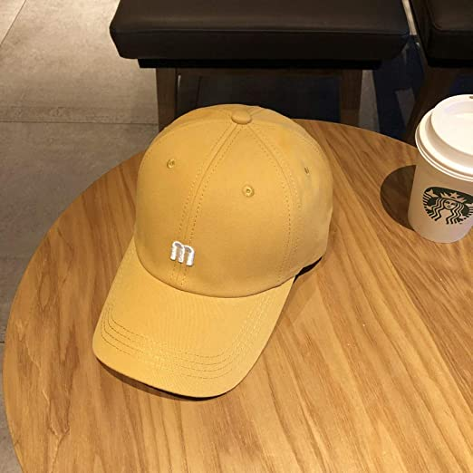 mlpnko Sombrero Mujer Moda Simple Carta Bordado Gorra de béisbol ...