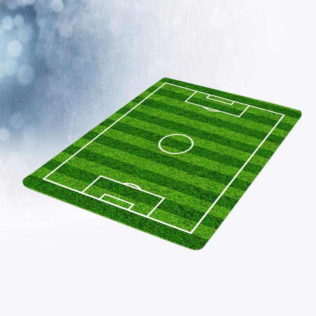Tappetino da Bagno Campo di Gioco Tappeto da Pavimento Garneck Antiscivolo Zerbino da Calcio per Bagno o Esterno Tappeto da Ingresso