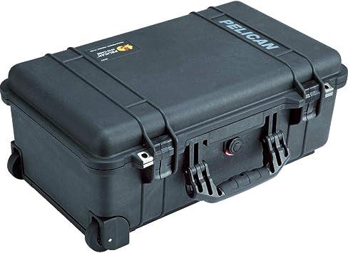 Pelican 1510 Carry On Case - Caja (Polipropileno (PP), Negro, 501 mm, 279 mm, 193 mm, 6,17 kg): Amazon.es: Electrónica