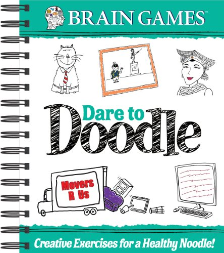 Brain Games Dare to Doodle 2 by Pubns Intl Ltd