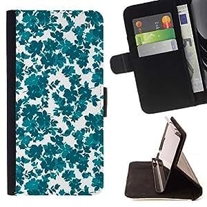 Teal White Clean Wallpaper - Modelo colorido cuero de la carpeta del tirón del caso cubierta piel Holster Funda protecció Para Sony Xperia Z2 D6502