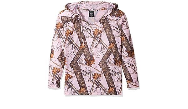 41a7123e6d6 Amazon.com  Mossy Oak Wilderness Dreams Women s Pink Break-Up Hoodie   Clothing