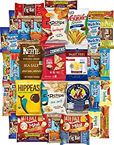 Ultimate Healthy Chips, Bars, Crackers & Snacks Care Package Variety Pack (35 Count) by Variety Fun