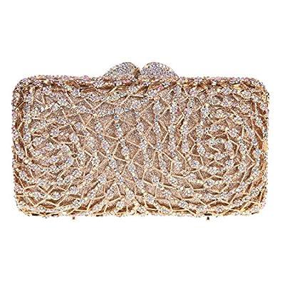 Fawziya Geometric Shape Evening Bag In a Bags For Womens Clutch Purse