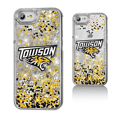 Towson University Gold Glitter Case for the iPhone 6 / 6S / 7 / 8 - Fit Towson