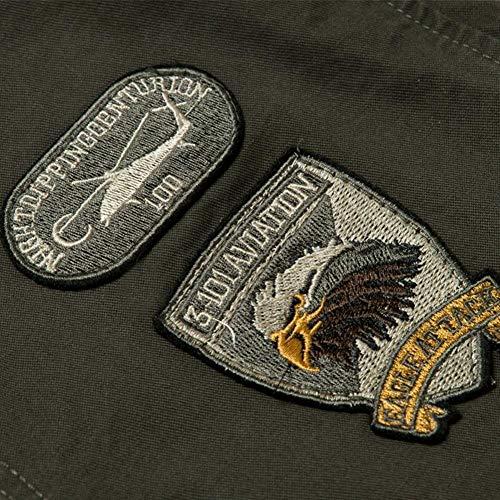 Patch Da Giacca Qk Armee Air lannister Ragazzo Militare Classico Force Giubbotti grün Cotone Giubbotto Uomo Bomber In OqA4Y0qw