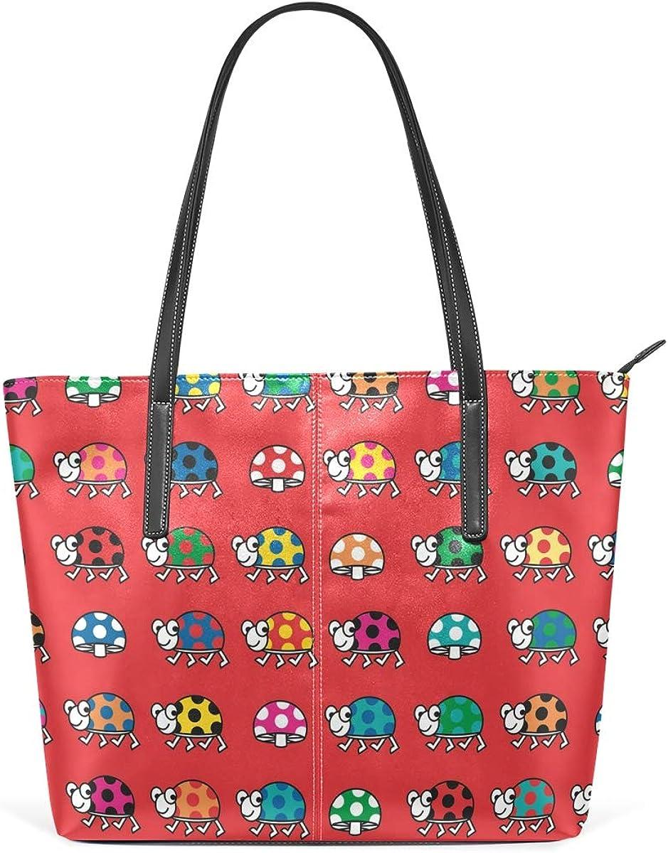 DEZIRO - Bolso de hombro para mujer, diseño de mariquita ...