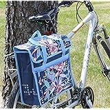 FASTRIDER SHOPPER PEONY Bike Pannier/Bag Blue 17.5L Water Resistant Single