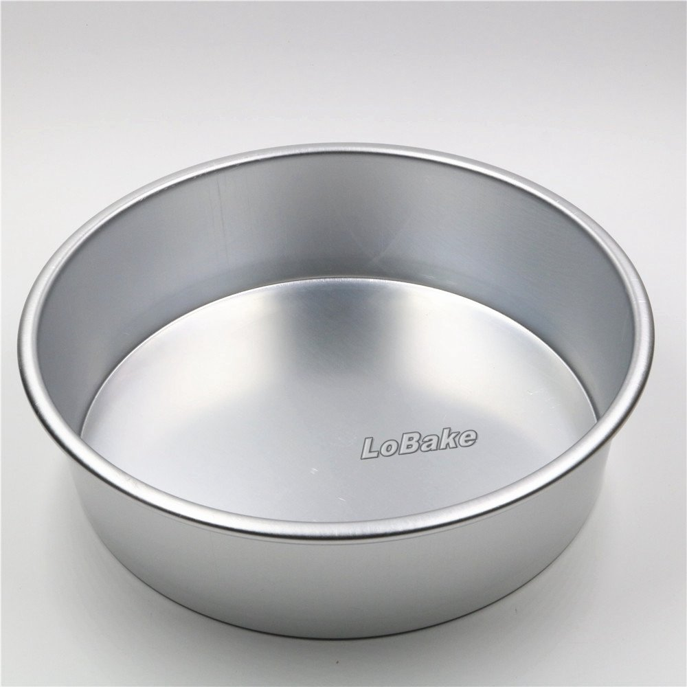 Amazon.com: 11 inches fixed bottom round aluminium alloy chiffon cake mould bread mold bandeja moulding boxes DIY formas de aluminio: Kitchen & Dining