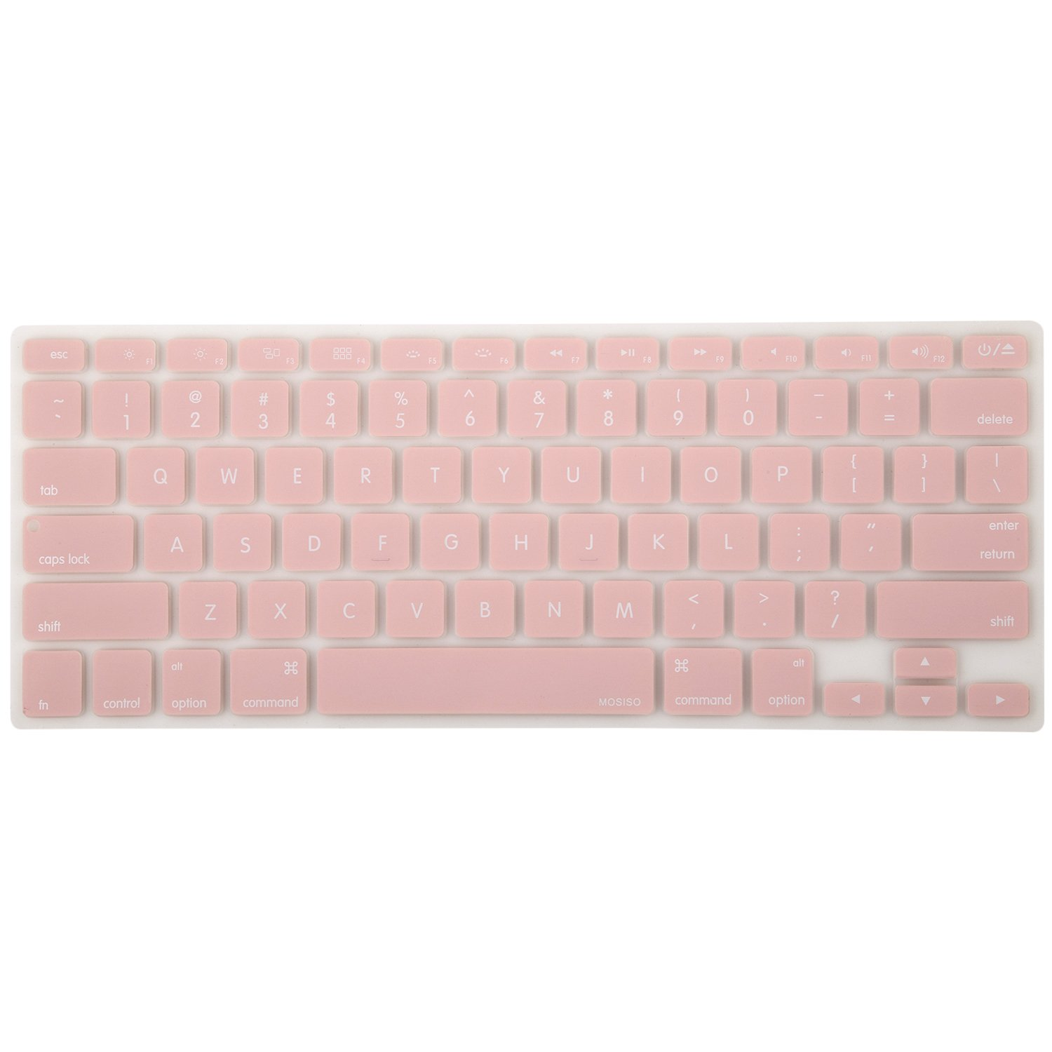 best sneakers cf3d0 63424 MOSISO Silicone Keyboard Cover Compatible MacBook Pro 13/15 Inch  (with/Without Retina Display, 2015 or Older Version), Older MacBook Air 13  Inch ...
