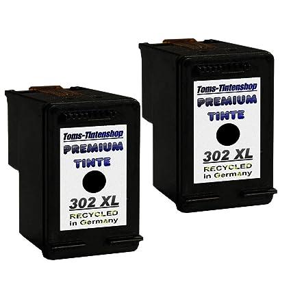2 Cartuchos de Tinta 302 XL Black, Refill Cartuchos para HP ...