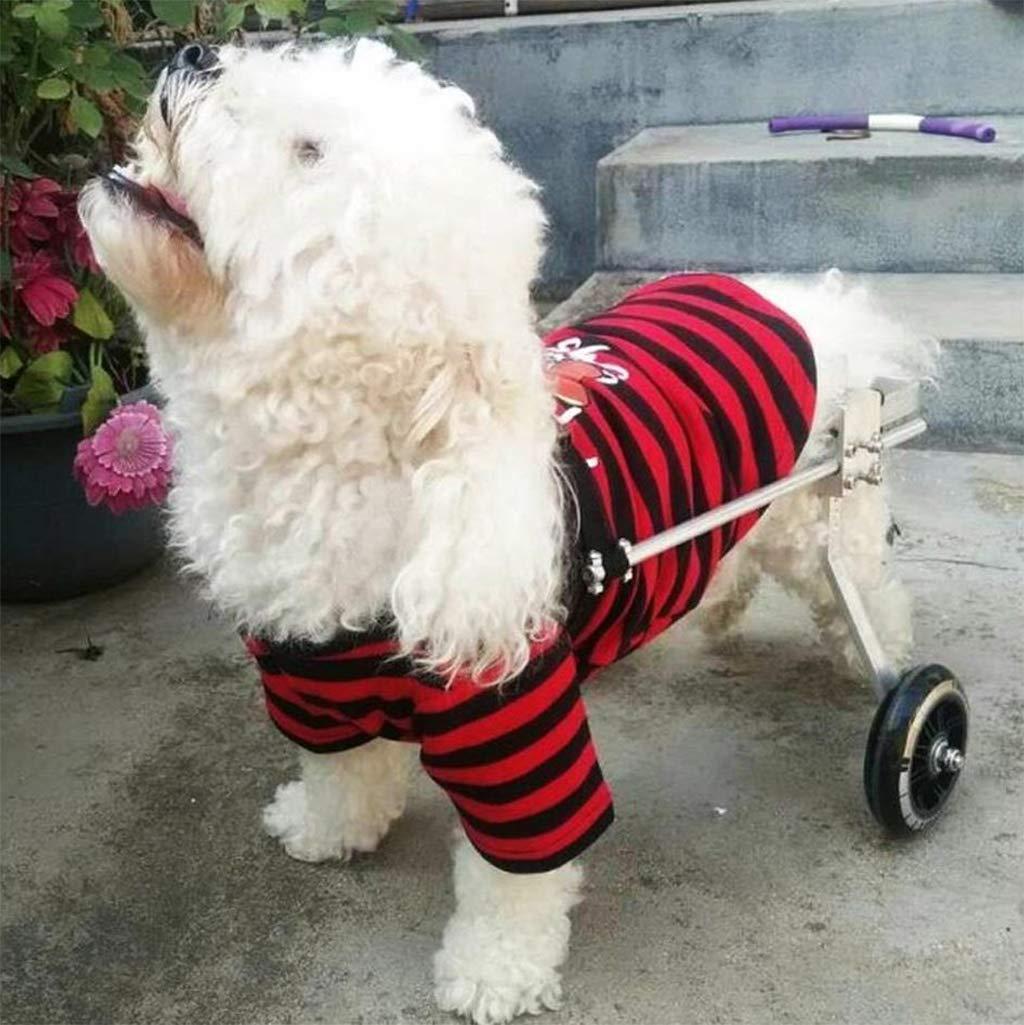 KXBYMX Silla de Ruedas para Perros/Scooter para Perros/Miembro Trasero para discapacitados/rehabilitación para Mascotas Asiento de Coche para Mascotas ...