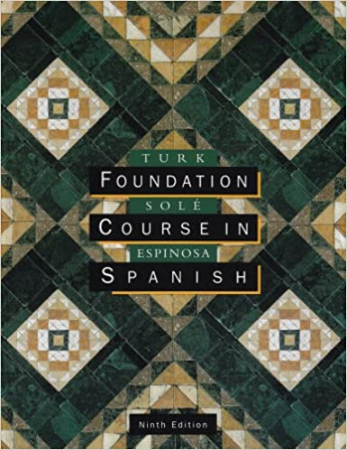 Amazon Foundation Course In Spanish 9780395868676 Laurel