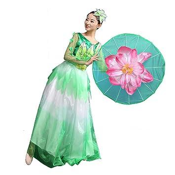 Byjia Regenschirm Tanz Flamenco Kleider Atmosphäre ...