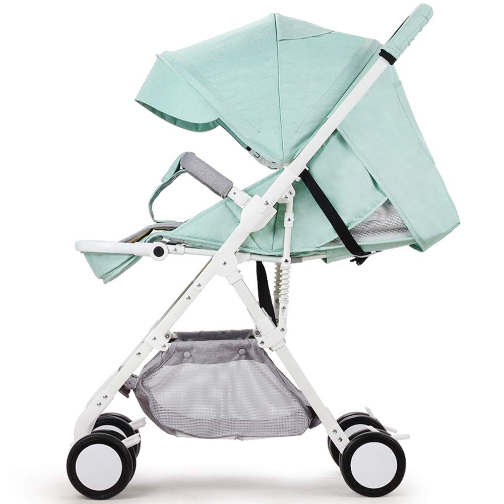 乳児用トロリー ベビーカート軽量でポータブル折り畳み式 座ることができますアルにミニウム合金 ベビーカー ベビーカー グリーン(60*50*110センチメートル) B07Q111L82 B07Q111L82, ワカヤマシ:b2560fb4 --- itxassou.fr