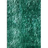 Momeni Rugs LSHAGLS-01TEL5070 Luster Shag Collection, Hand Tufted High Pile Shag Area Rug, 5' x 7', Teal Blue