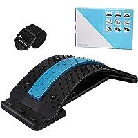 Extensor de espalda con puntos de acupresión magnéticos para aliviar el dolor de espalda baja, cubierta de tracción…