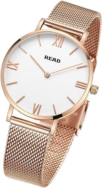 READ Reloj para Mujer, Reloj de Cuarzo, Marca de fábrica Superior ...