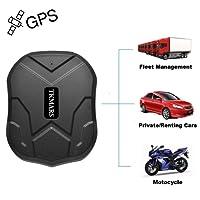 TKMARS Starker Magnet GPS-Tracker, 3 Monate Lang Standby GPS, Fahrzeug Tracker Echtzeit Monitoring System, wasserdicht GPS Locator, Anti Verloren GPS Ortungsgerät mit Kostenlos APP für Smartphone