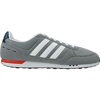 outlet store 17172 86833 adidas Neo City Racer - F99332 - Color Red-Navy Blue-Grey - Size