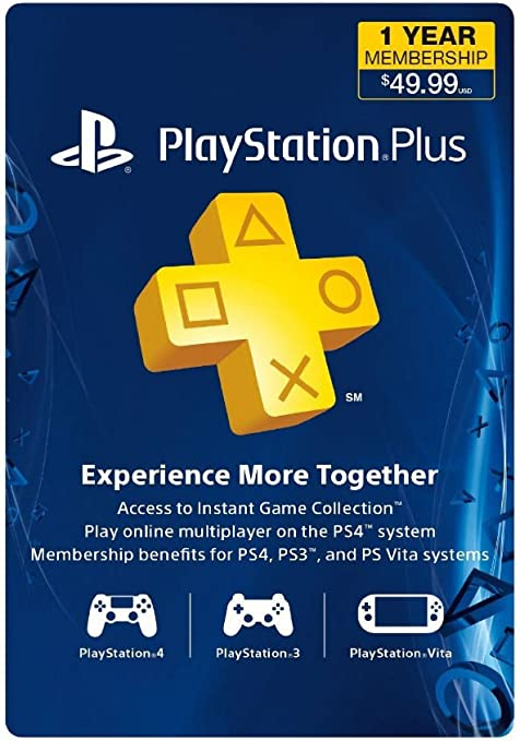 Playstation Plus 1 año (12 Mes) Gamecard PSN PS3 PS4 vitanew: Amazon.es: Electrónica