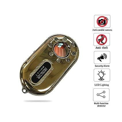 Lesgos Detector de cámara Oculta Anti espía, RF Detector de Errores Escáner de señal inalámbrico