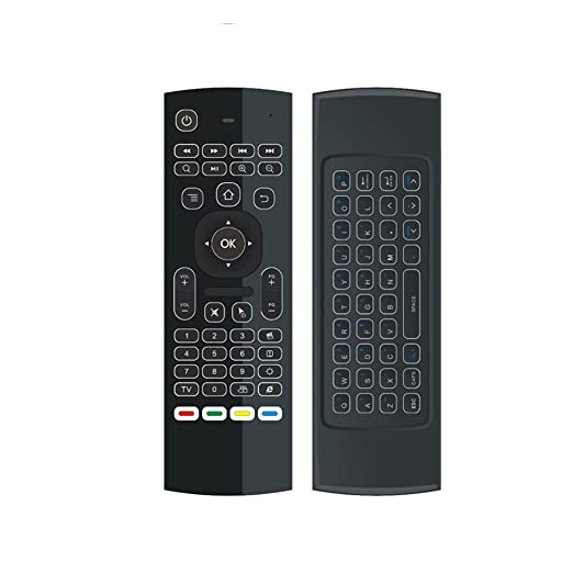 6 opinioni per DroidBOX VIP V2 3-in-1 Backlight Telecomando wireless Air-Mouse 2.4Ghz con