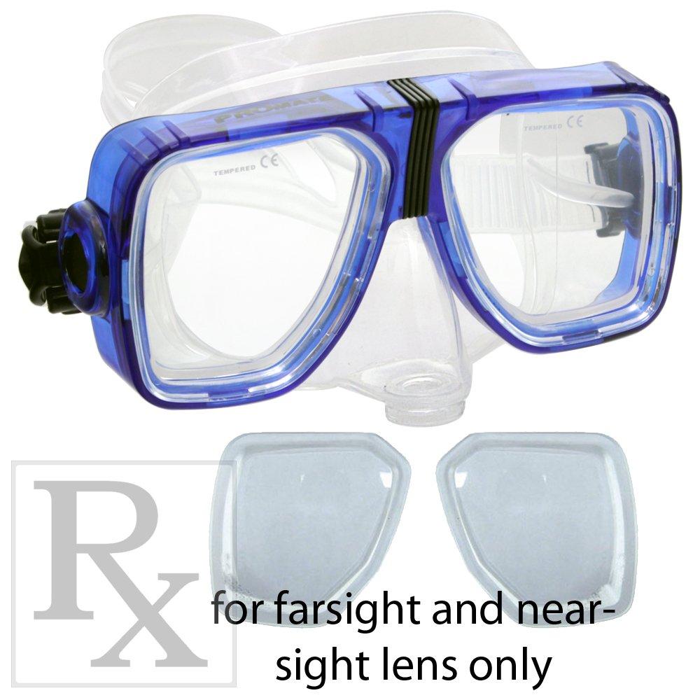 消費税無し Rx Scuba Diveシュノーケリングパージマスク処方箋レンズFarsightedness/ Blue nearsightednes/ Blue Plain/ B001O8NY1Y Trans. Blue NoCorrection NoCorrection|Trans. Blue, MINE:4fec6b50 --- ciadaterra.com