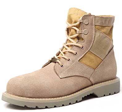 Unisex Martin Boot Couple Desert Boot Mid Calf Boot Lace-up Hiking Shoes Casual Climbing Boot