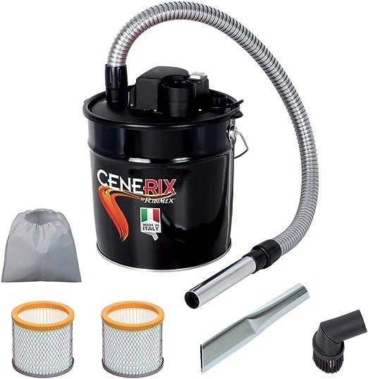 Aspirador para cenizas eléctrico Cenerix 1200 W – 18 L con doble ...