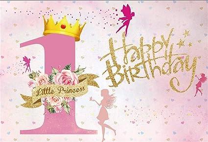 Aofoto Happy Birthday Hintergrund Kuchen Smash Kamera