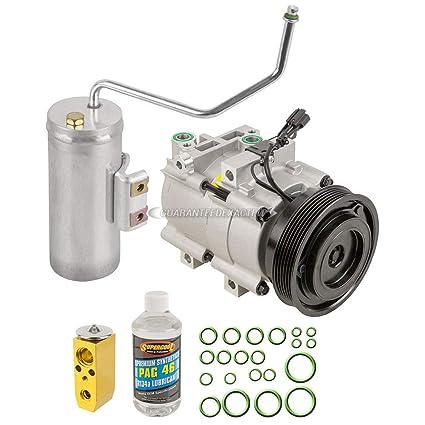 Amazon.com: AC Compressor w/A/C Repair Kit For Hyundai Sonata & Kia Optima Magentis - BuyAutoParts 60-80288RK New: Automotive