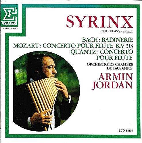 Syrinx Plays Bach: Badinerie; Mozart: Concerto for Flute, KV313; Quantz: Concerto for Flute (Simion Syrinx Stanciu)