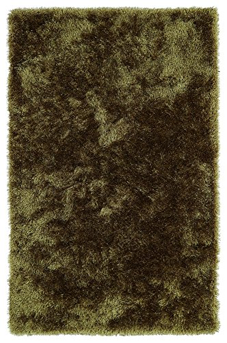 Kaleen Rugs Posh Collection PSH01-23 Olive Handmade 8' x 10' Rug Green Handmade Transitional Rug