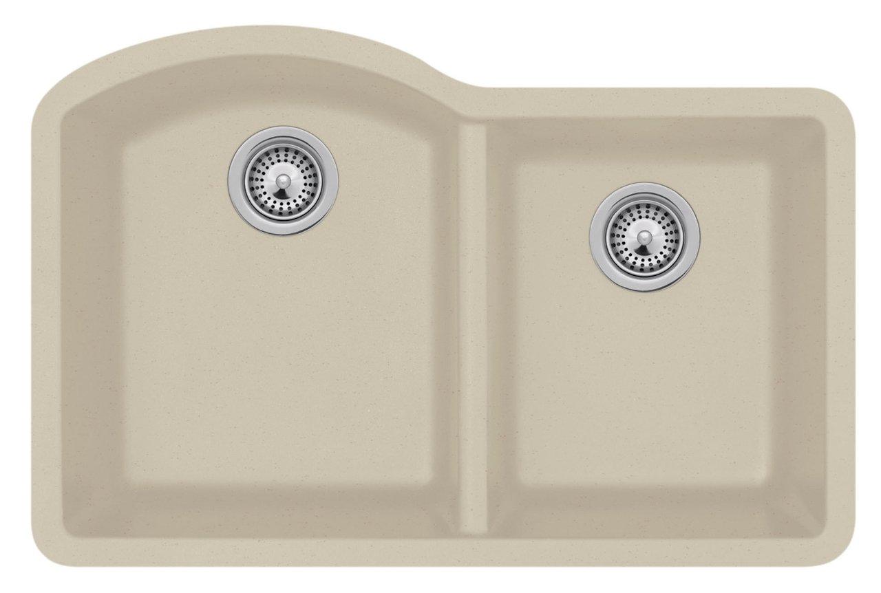 Nero Granit Unterbau Küchenspüle, doppelt, QUDB-3322.076: Amazon.de ...