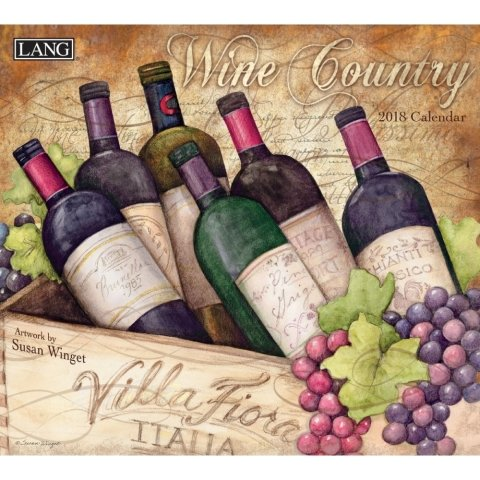 The Lang Wine Country Wall Calendar 2018