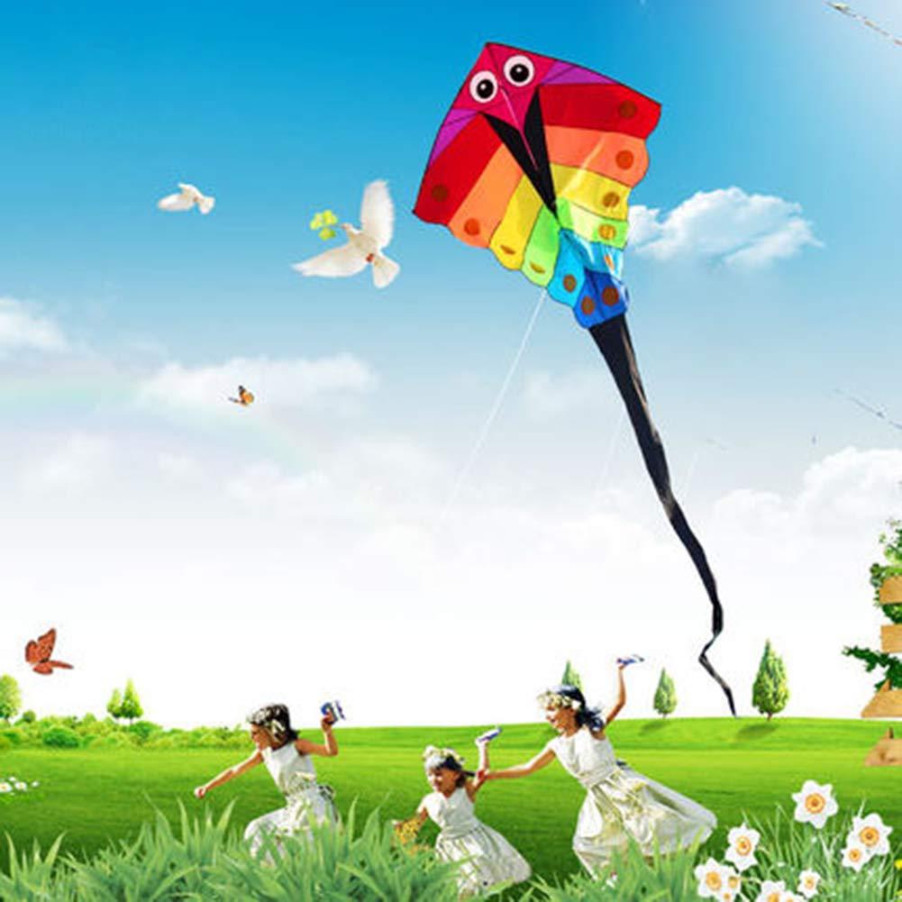 XQDSP EIN Karo-Tuch Karo-Tuch Karo-Tuch Kinder Drachen für Kinder bis Erwachsene Kinder Mädchen Jungen Erwachsene Anfänger Die Große Easy Fly Strand Spielzeug Spiele Aktivitäten Drachen Fliegen Outdoor 76d84b