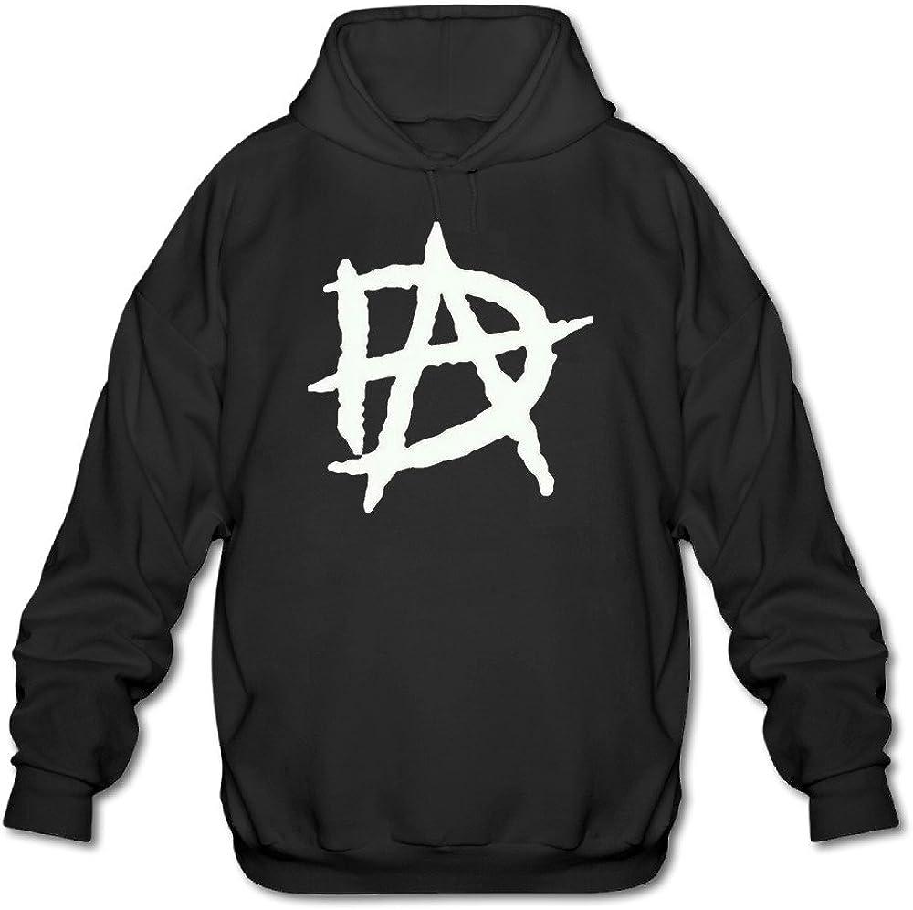 SHMUY Dean Ambrose Logo Mens Funny Hooded Coat Black