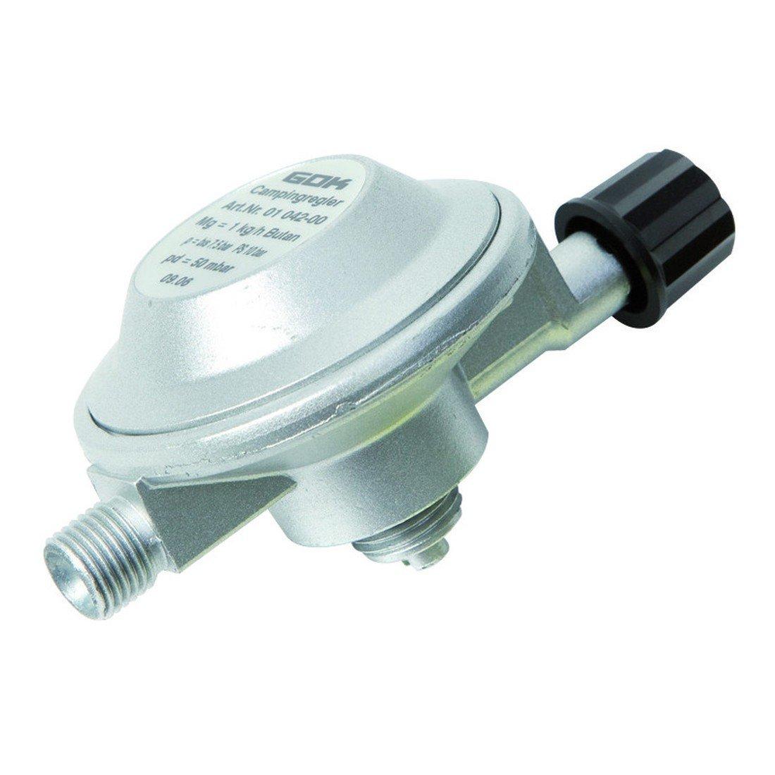 GOK Niederdruckregler Cam 1 Gaz X G 1/4 LH-KN 50Mbar, 310/701-1 01-041-00