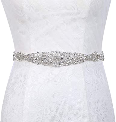 Wedding Dress Sashes With Rhinestones Bridal Sashes For Wedding
