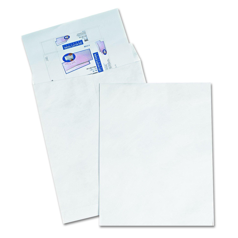 Quality Park R5106 Quality Park Tyvek Heavyweight Jumbo Envelopes, 14-1/2x20, White,25/Bx