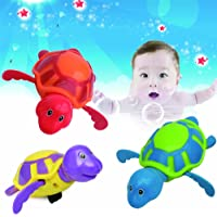 Wind-up Turtle Swimming Pool Bath Time Animal Clockwork Floating Kid Baby Toy