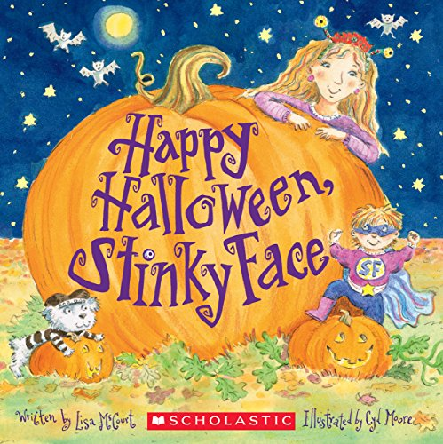 Halloween Book (Happy Halloween, Stinky Face)