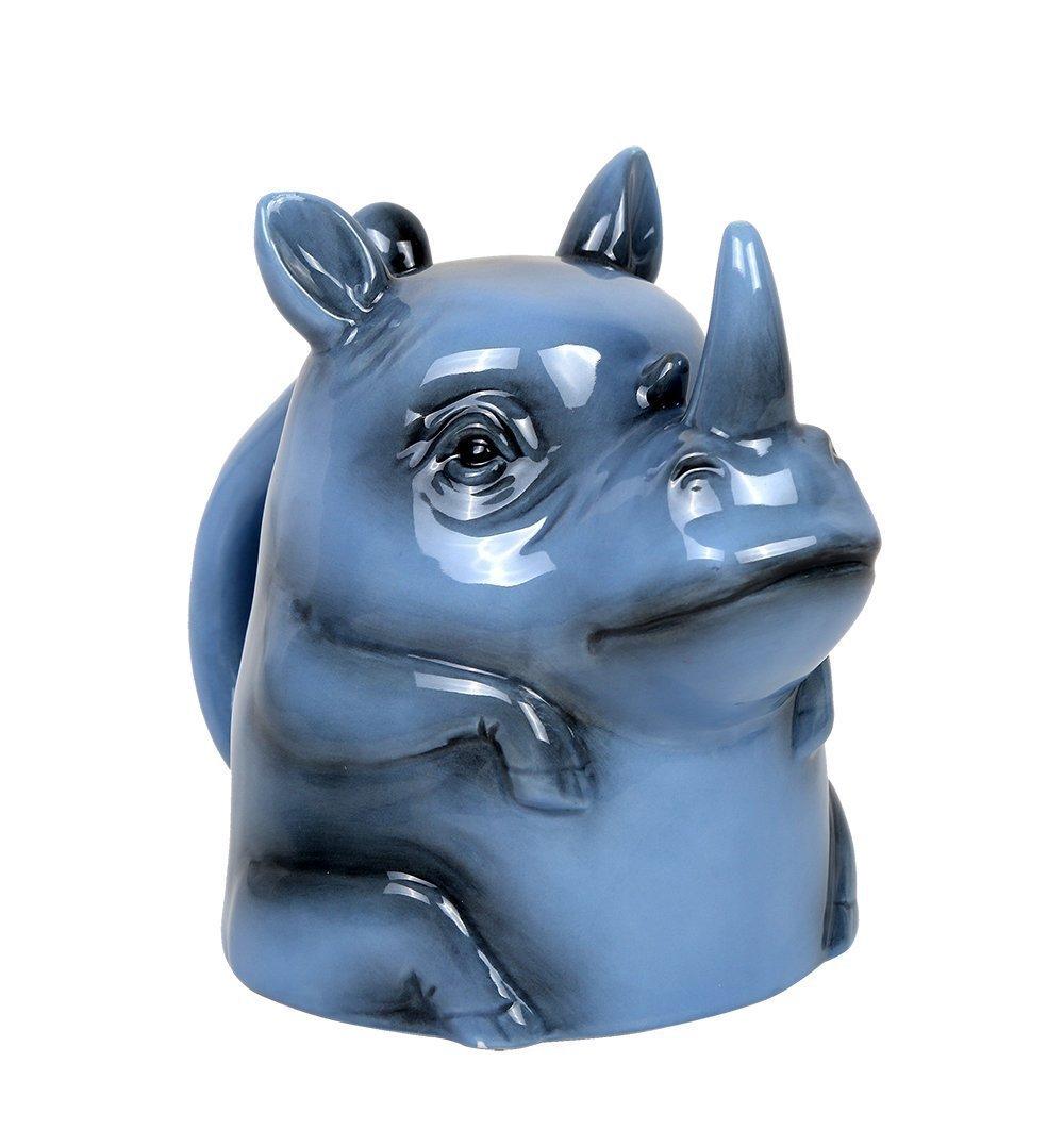Pacific Giftware Topsy Turvy Rhino Horn 11oz Coffee Mug Adorable Mug Upside Down Tea Home Office Decor …