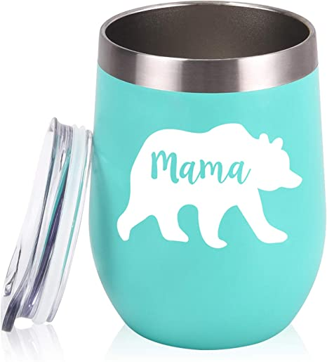 Mama Bear Glass or Steel Tumbler