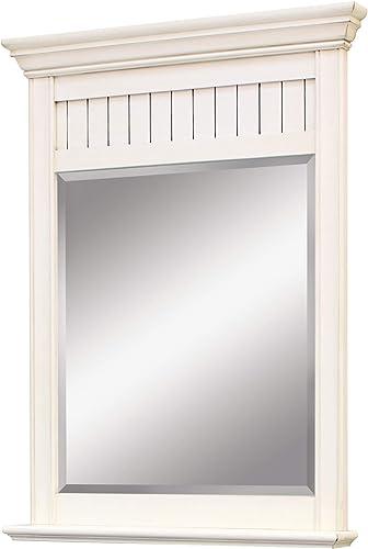 SUNNYWOOD PRODUCTS BB3040MR Bristol Beach Mirror, 30X40, White