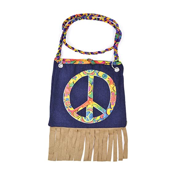 70s Costumes: Disco Costumes, Hippie Outfits Hippie Hand Bag $8.35 AT vintagedancer.com