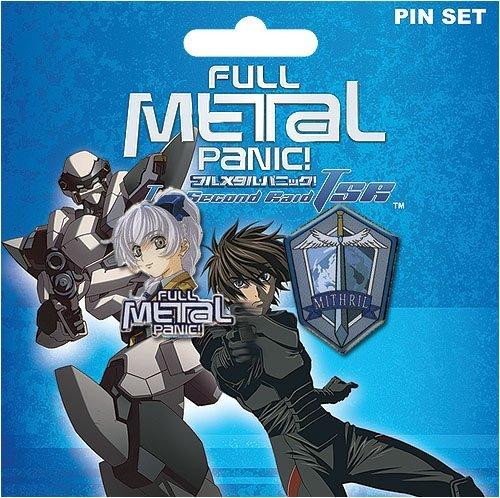 Full Metal Panic!: Teletha & Mithril Symbol Pins
