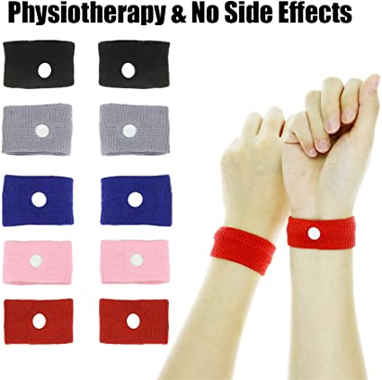 TRAVEL SICKNESS BANDS Acupressure nausea relief morning sickness wristbands