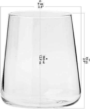 Krosno Wassergläser Longdrinkgläser TrinkgläserSet von 6540 6 Stück